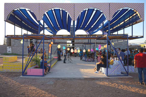 Children-Informed Community Pavilions - Enorme Studio Taps into the Imagination of Children