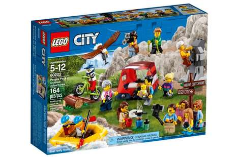 Wildlife-Inspired LEGO Packs