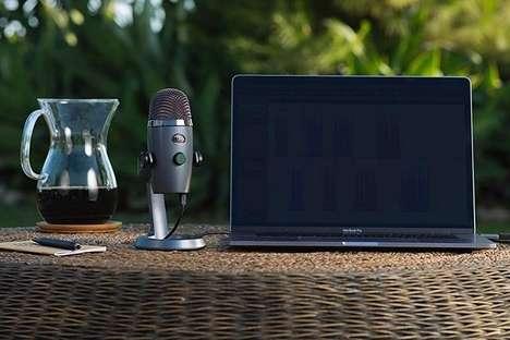 Miniature Livestream Microphones