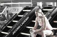 Indoor Climber Workout Machines - The Jacob's Ladder Gronk Fitness Edition Step Machine is Intensive