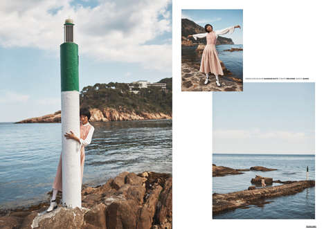 Candid Beachside Editorials - The Ones 2 Watch 'Profound Nothingness' Series is Effortlessly Chic