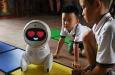 Chinese Robot Teachers - The Keeko Robot is Being Used to Teach Chinese Kids Problem-Solving Skills