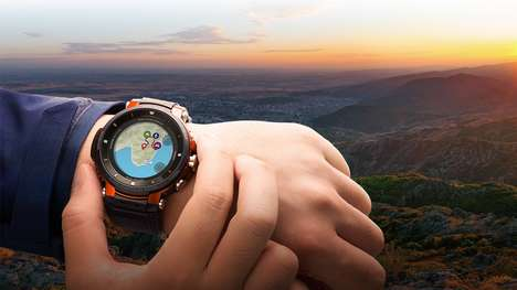Adventure-Tracking Sport Timepieces