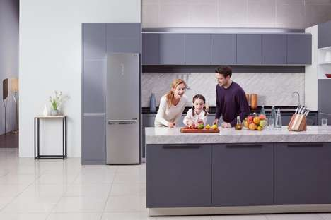 Slender Ultra-Efficient Refrigerators