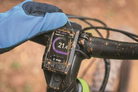 Rugged E-Bike Monitors