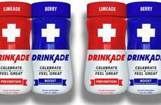 Hangover-Curbing Supplement Shots - These DrinkAde Shots Contain Just Five Calories Each