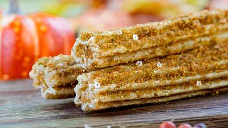 Sweet Pumpkin Spice Churros
