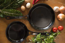 Super Lightweight Iron Skillets - SOLIDteknics' US-ION is a Cooking Skillet is Highly Durable