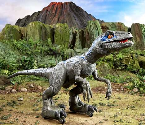 Reactive Dinosaur Robots