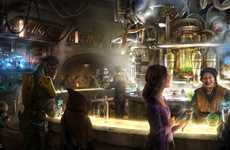 Intergalactic Theme Park Cantinas - Oga's Cantina is Set to Serve Booze and Otherworldly Dishes