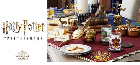Wizardly Home Decor Collections - Pottery Barn's New Harry Potter Collection is Magical