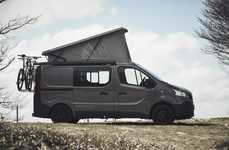 Cinematic Camper Vans - This German Camper Van Functions As a Movie Theater On Four Wheels
