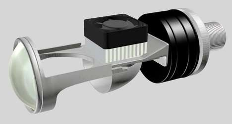 Auto-Leveling Motorcycle Headlights