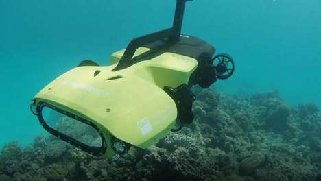 Reef-Monitoring Underwater Drones - The 'RangerBot' Can Assess Problems In Coral Reefs