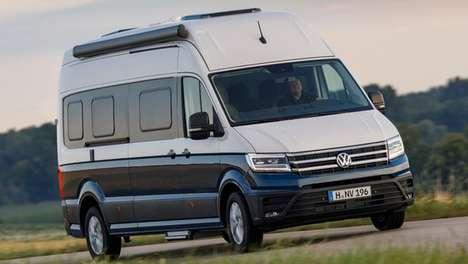 Yacht-Inspired Camper Vans