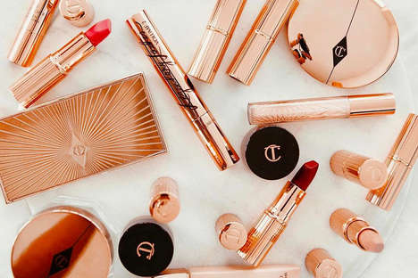 Elegant Nude Cosmetic Lines - Charlotte Tilbury Releases a Line Inspired by the Shade 'Pillow Talk'
