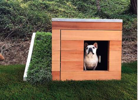 Design-Friendly Dog Houses - The Doggy Dreamhouse is Ideal for Both Dogs and Humans
