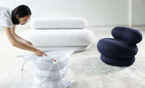 Vacuum-Sealed Sofas - This Collection of Compressed Furniture Makes Moving a Lighter Weight Effort