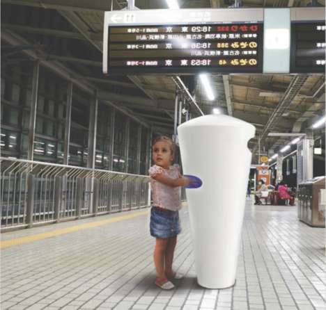 Urban Sterilizer Stations - The Lambda Makes Waterless Hand-Cleaning Possible in Public Places