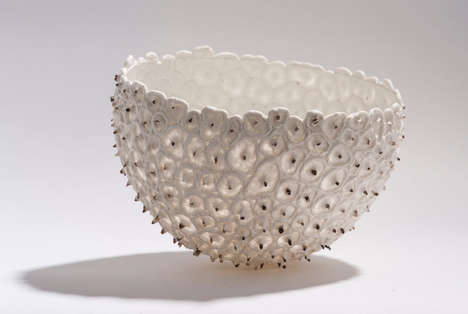 Balloon-Molded Bowls - Guy van Leemput Makes Delicate Ceramics Using Inflated Balloons as Bases