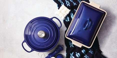 Indigo-Tinged Cookware