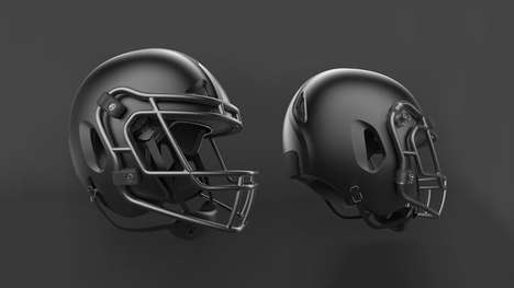 Redesigned Football Helmets