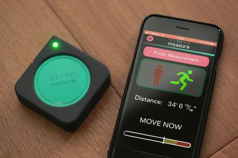 Motion-Sensing Measuring Devices