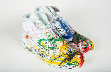 Hand-Painted Tribute Sneakers