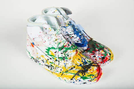 MR. BRAINWASH Honors the Late DJ AM With a Range of Sneakers