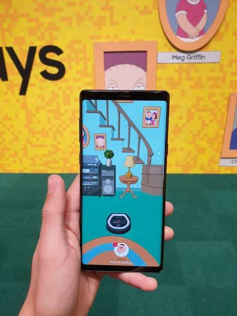 AR Cartoon Home Experiences - Samsung's 'Doorways' Shows Smart Products in the Family Guy Home