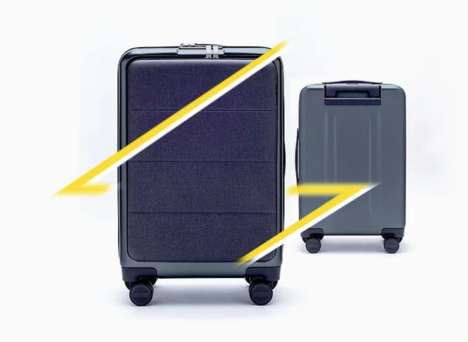 Tech-Friendly Travel Carry-Ons - Passport's Convenient Carry-On is Perfect for Gadget Lovers