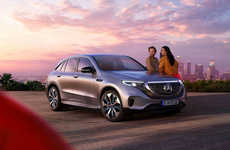 Luxury Quick-Charge SUVs - The Mercedes EQC SUV Offers 279 Miles of Range Per Charge