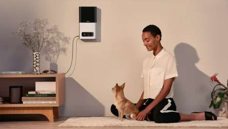 Treat-Dispensing Smart Pet Cameras - Through Petcube Bites Consumers Can Reward and Play with Pets