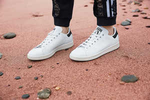 Recreated Vegan Leather Sneakers