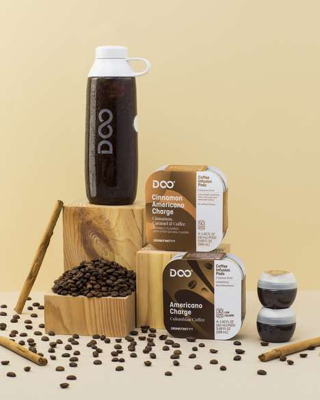 On-the-Go Iced Coffee Pods