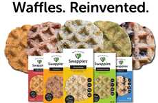 Free-From Frozen Waffles - The Yuca Root-Based 'Swapples' are Gluten-Free, Grain-Free and Vegan