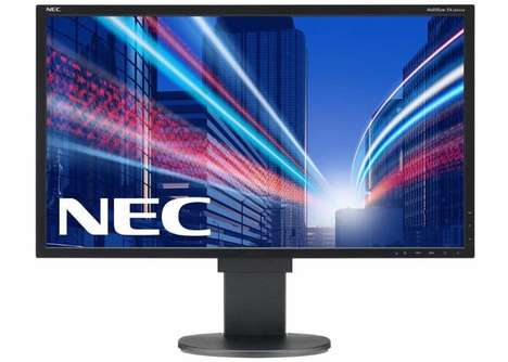 Blue Light-Limiting Monitors - The NEC MultiSync EA271Q Monitor is Focused on Eye Health