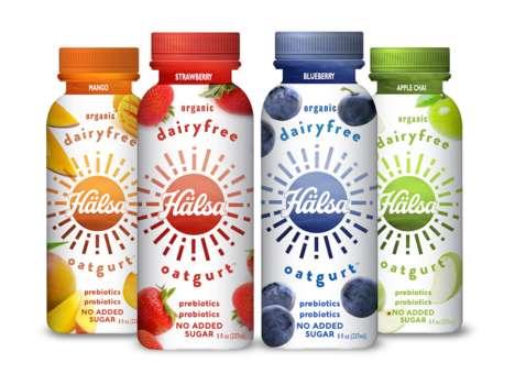 Plant-Based Yogurt Beverages