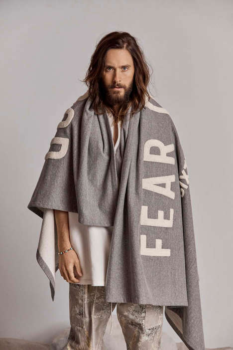 Neutral Celebrity-Headed Fashion Editorials - Fear of God's FW 18 Taps into a Celebrity Male Model