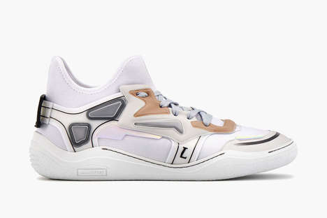 Lanvin Dropped a Set of Diving Trainers with Sportswear Sensibilities