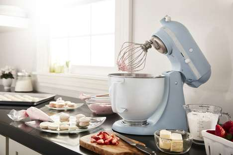Misty Blue Stand Mixers