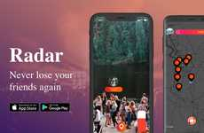 AR Friend-Finding Apps - The 'Rad.ar' App Helps You Navigate to and Locate Lost Friends