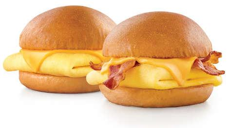 Miniature Breakfast Sandwich Snacks