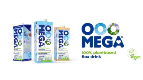 Plant-Based Flax Beverages