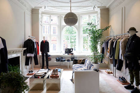 Multi-Storey Fashion Townhouses - Matchesfashion.com Created an Experiential Retail Hub in London