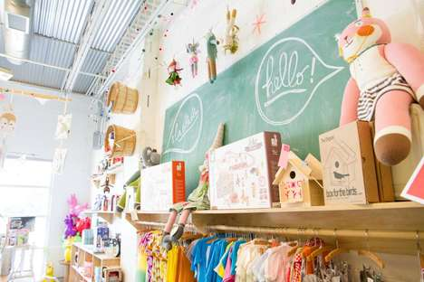Whimsical Family-Run Kid Shops - Treehouse Offers Eclectic Collections and Creative Spaces for Kids