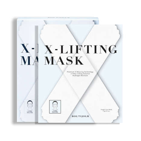 X-Shaped Antioxidant Masks