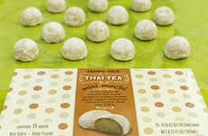 Thai Tea Mochi Treats - Trader Joe's Mini Mochi Takes Flavor Inspiration from a Traditional Drink