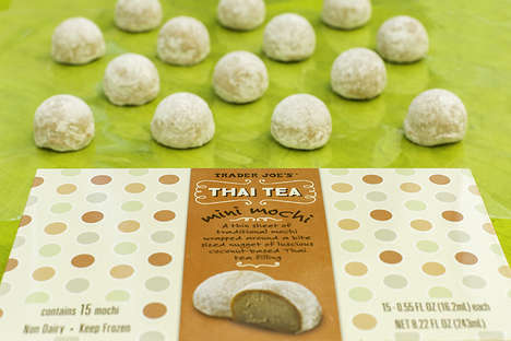 Thai Tea Mochi Treats