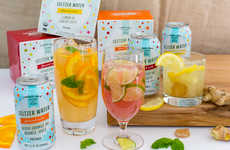 Juice-Infused Seltzer Drinks - Trader Joe's Seltzer Water Features Sweet, Organic Fruit Juice